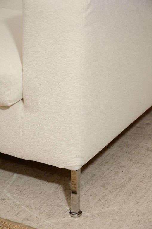 3 seat slip covered sofa from Troy, NY 3