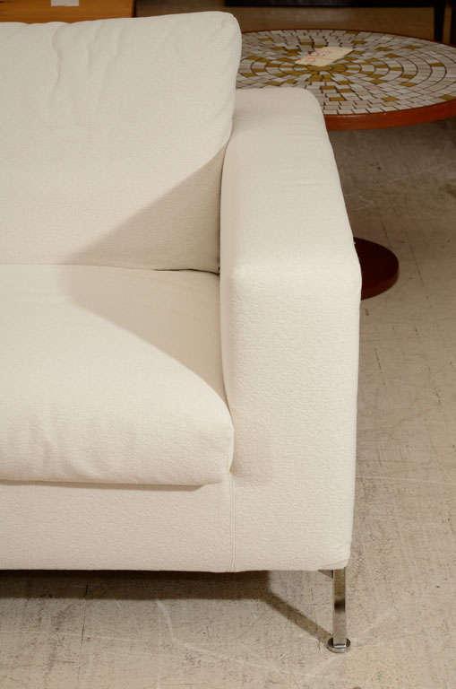 3 seat slip covered sofa from Troy, NY 5