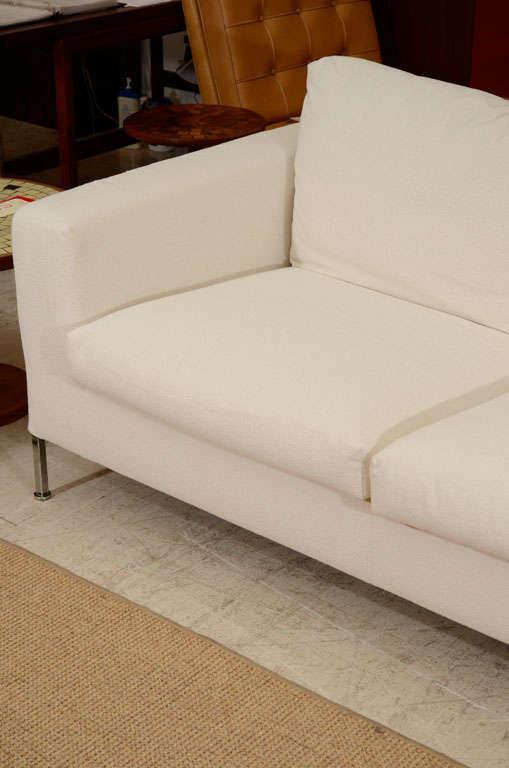3 seat slip covered sofa from Troy, NY 6