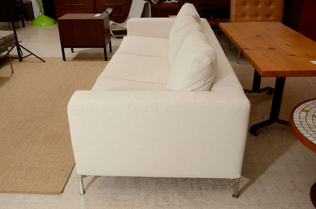 3 seat slip covered sofa from Troy, NY 7