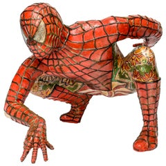 Domenico Pellegrino Spiderman Sculpture