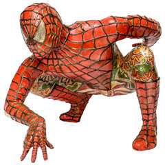 Domenico Pellegrino Spiderman Sculpture