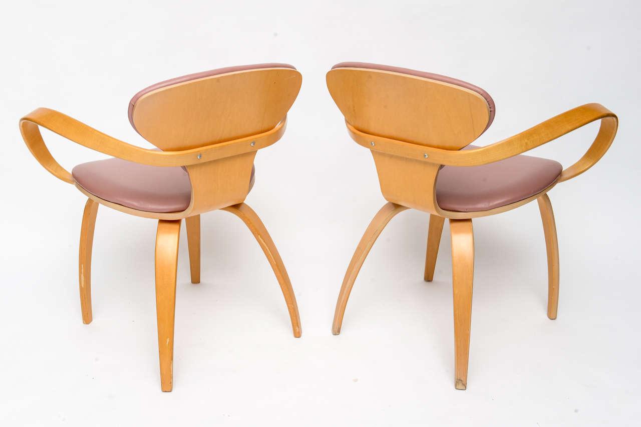 Normal Cherner Pretzel Chairs for Plycraft 6