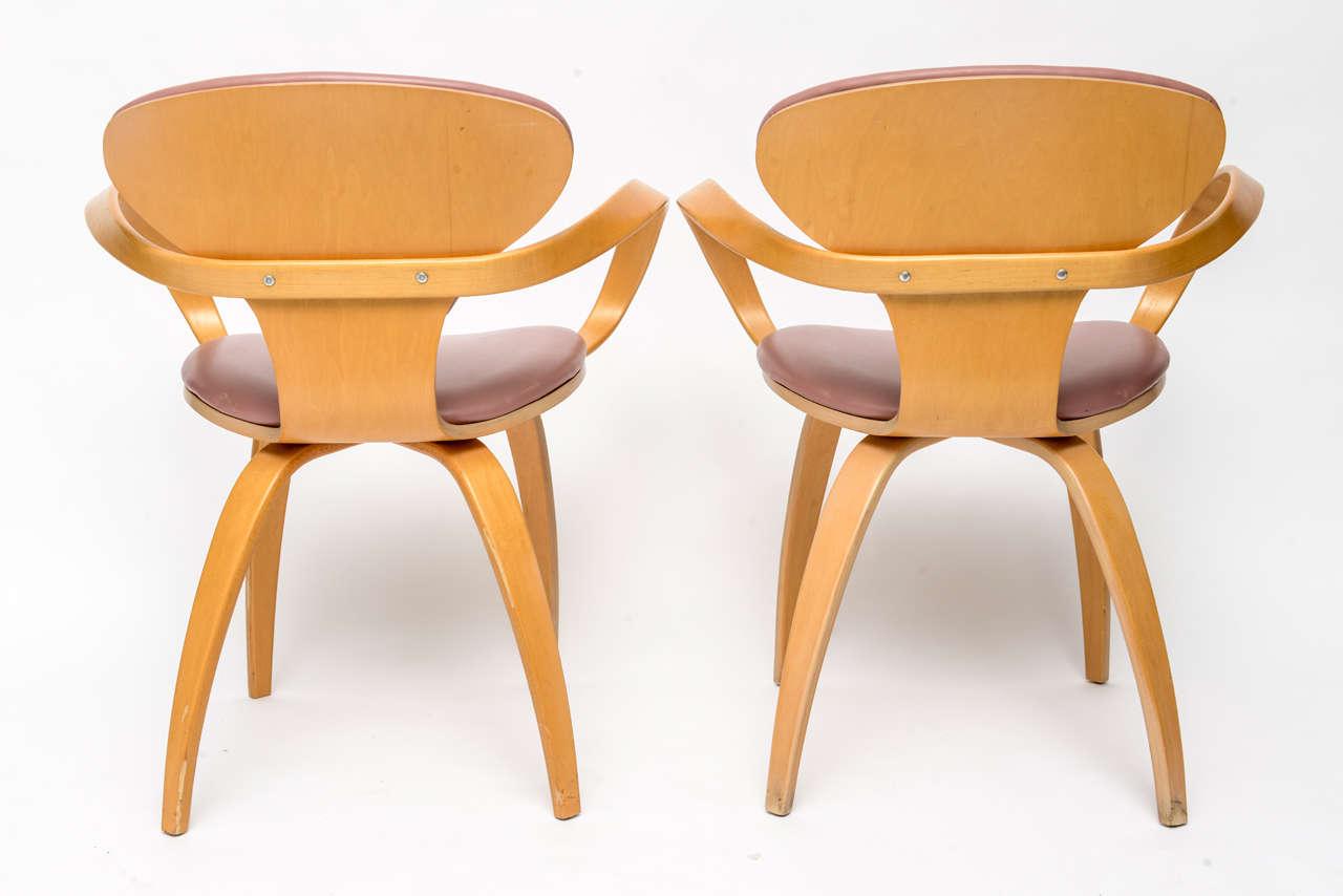 PVC Normal Cherner Pretzel Chairs for Plycraft For Sale
