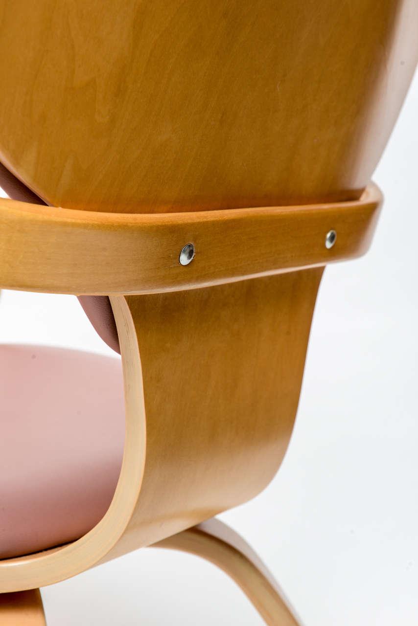 Normal Cherner Pretzel Chairs for Plycraft For Sale 2