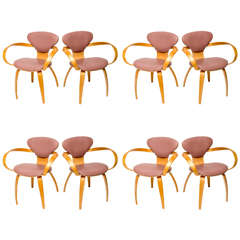 Normal Cherner Pretzel Chairs for Plycraft