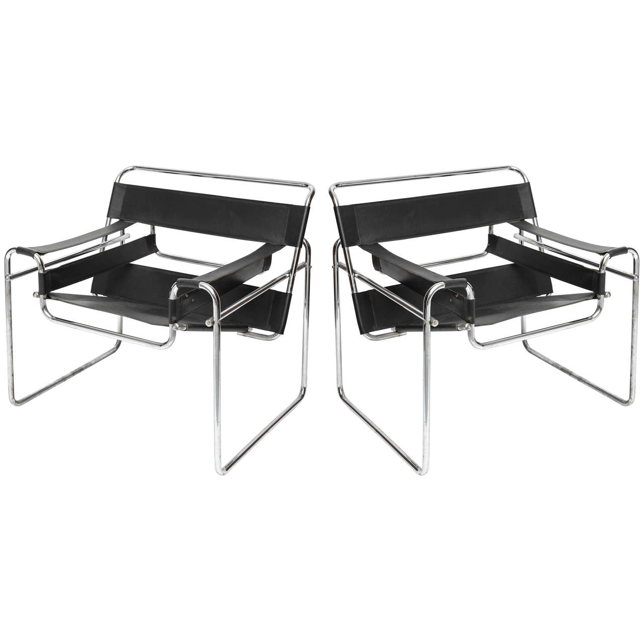 Wassily Chairs, Vintage pair