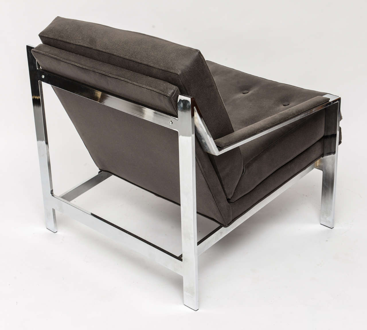 19th Century Cy Mann Chrome Chair For Sale