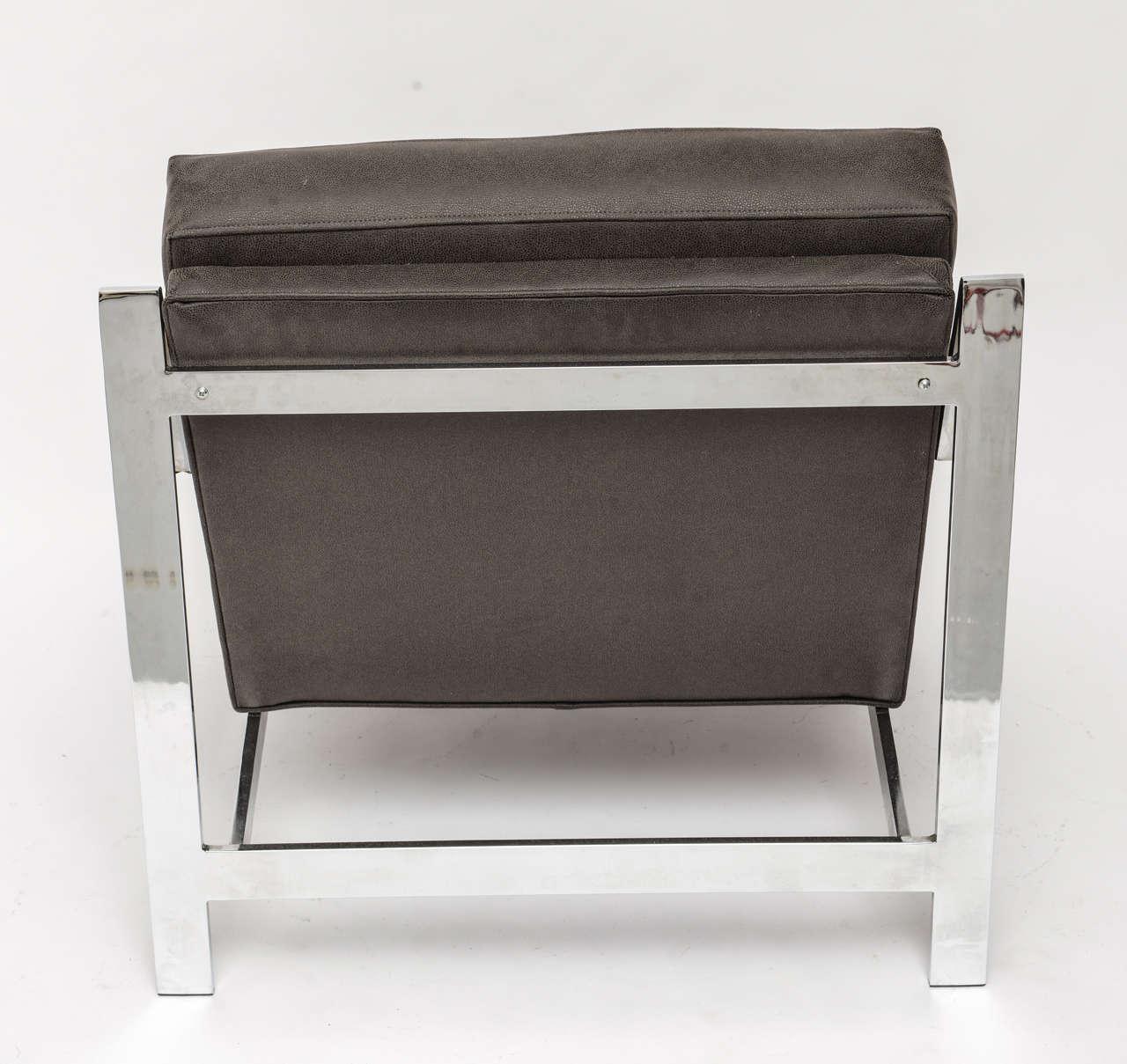 Cy Mann Chrome Chair For Sale 1