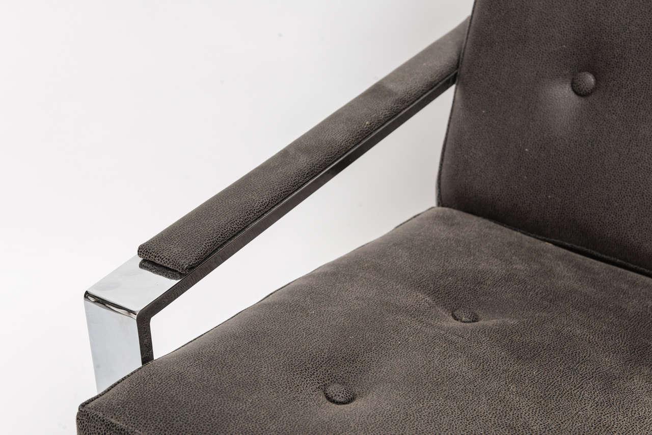 Cy Mann Chrome Chair For Sale 3
