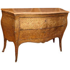 Italian 18th c. Gilt Commode with Onyx Top