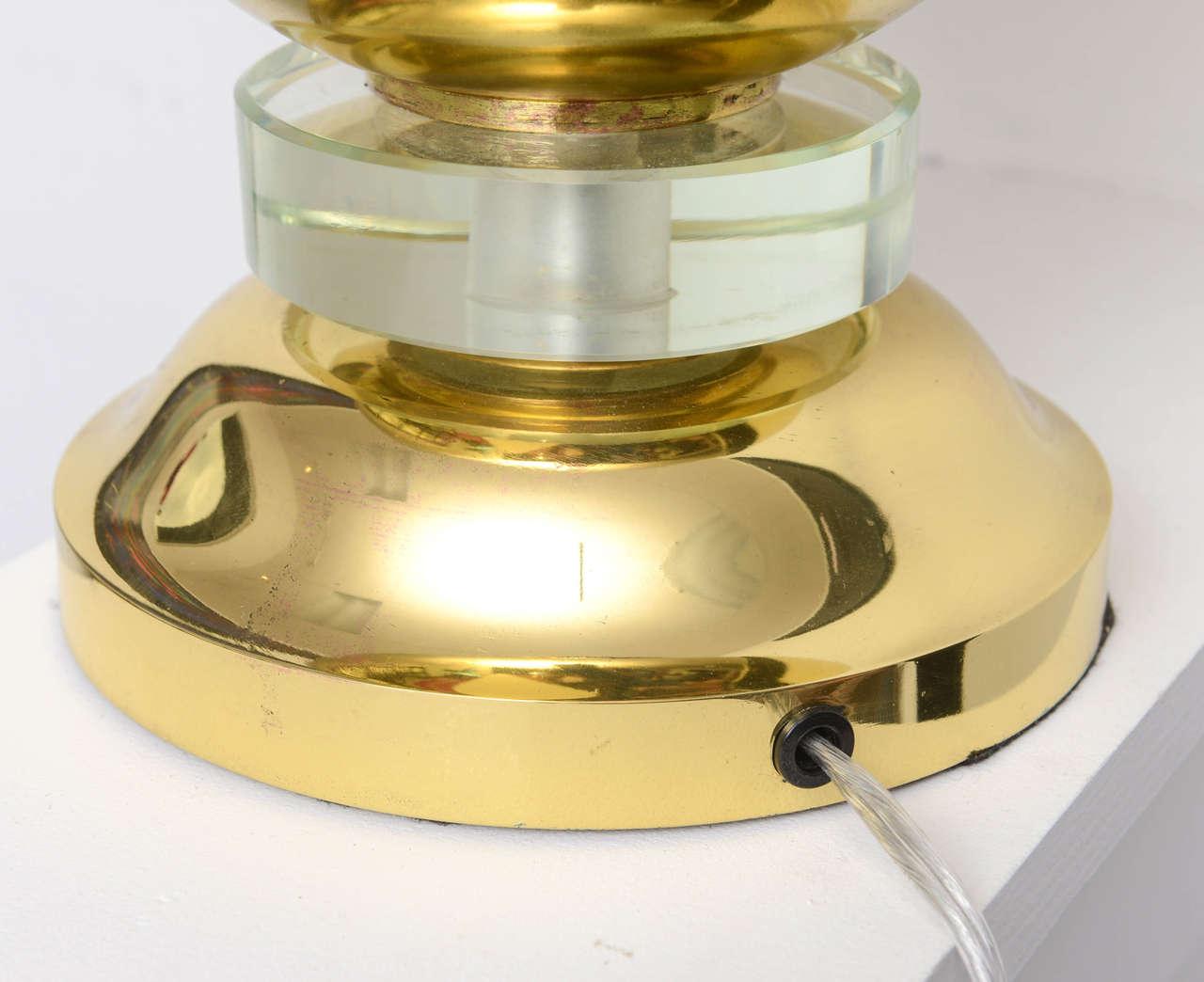 Brass French Art Deco