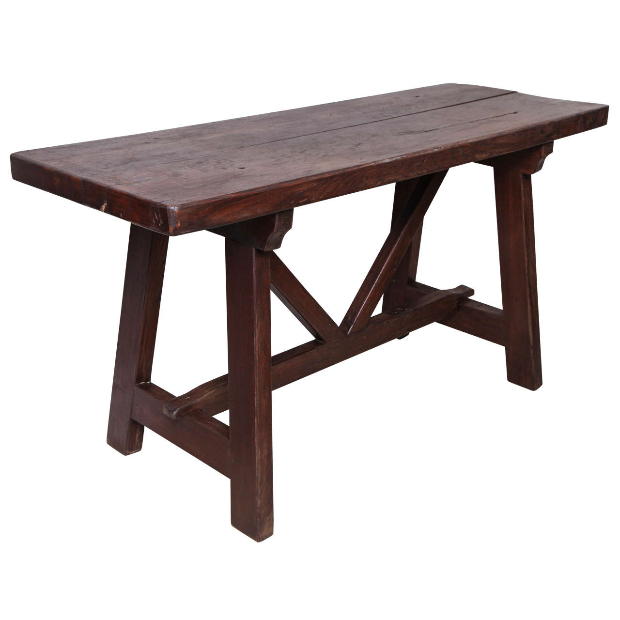 Late 18th-19th Century Walnut Table