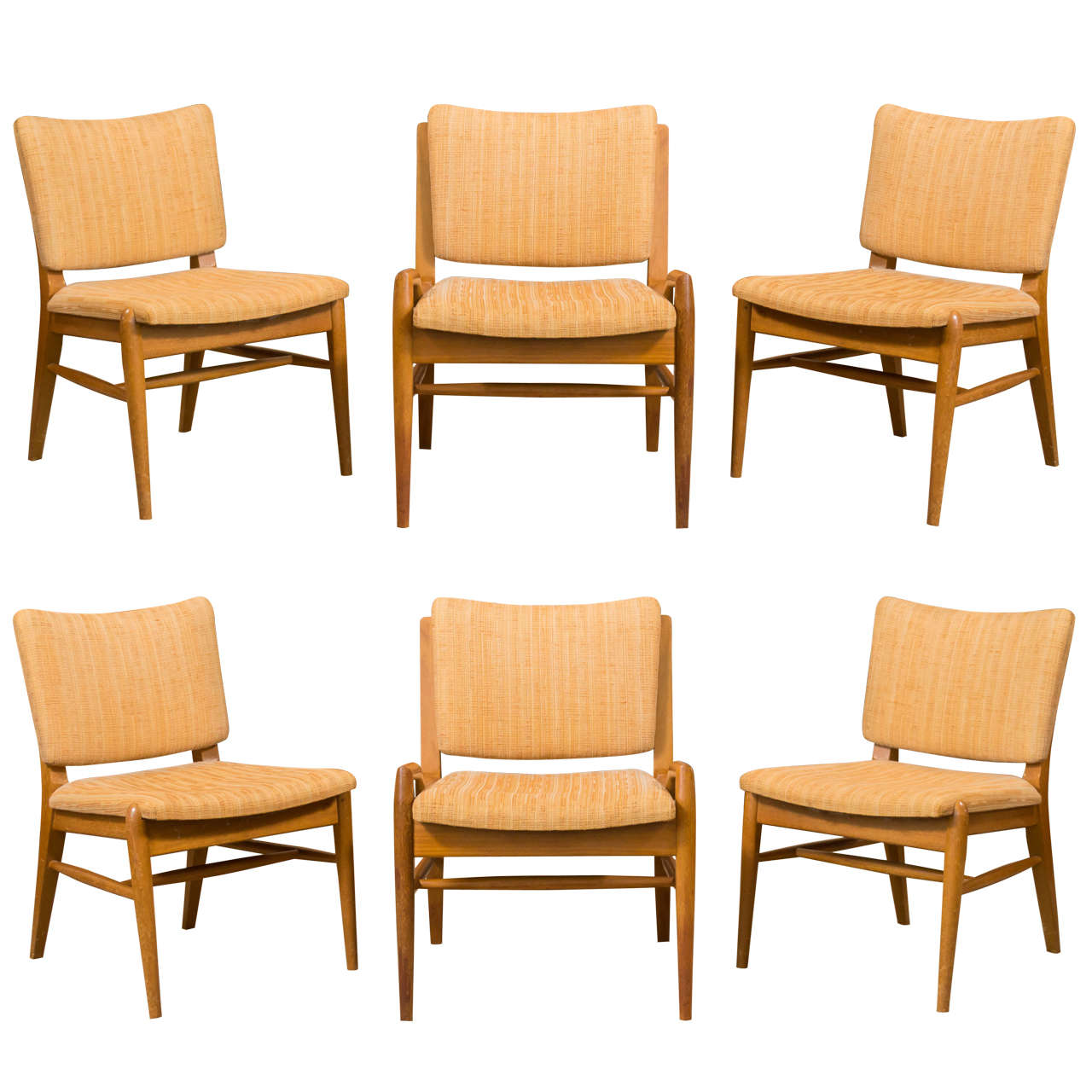 Six John Keal For Brown Saltman Mahogany Dining Chairs At 1stdibs