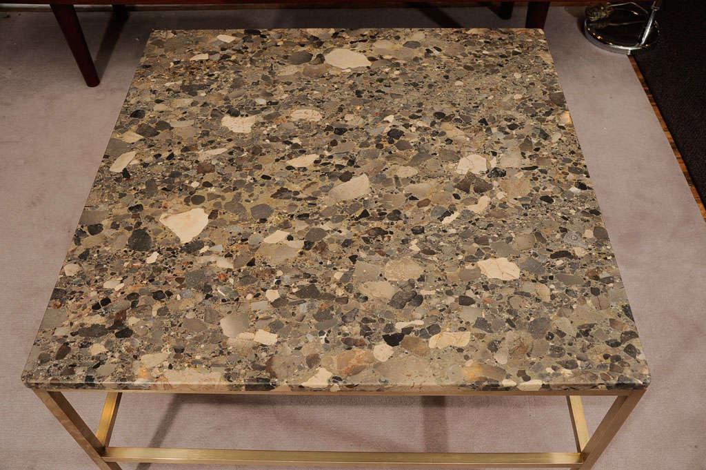 Granite Top Coffee Table Att Harvey Probber At 1stdibs
