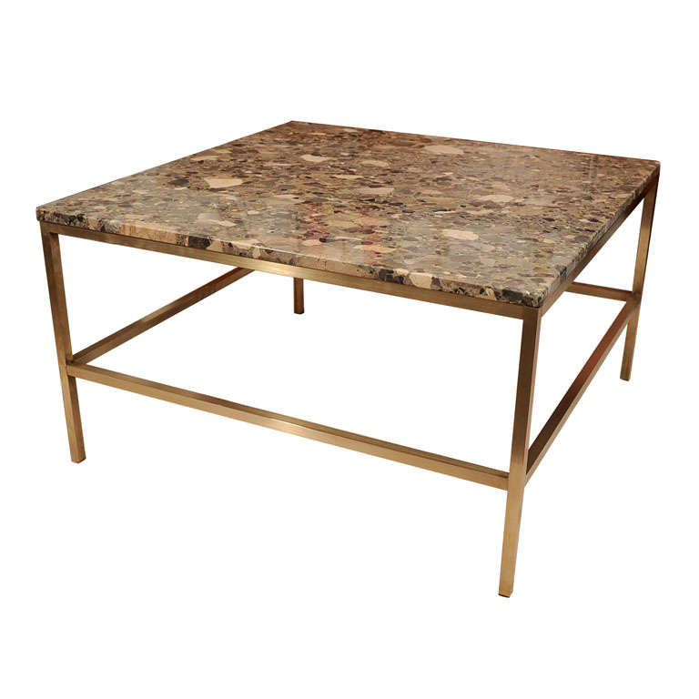 Granite Top Coffee Table Att Harvey Probber At 1stdibs