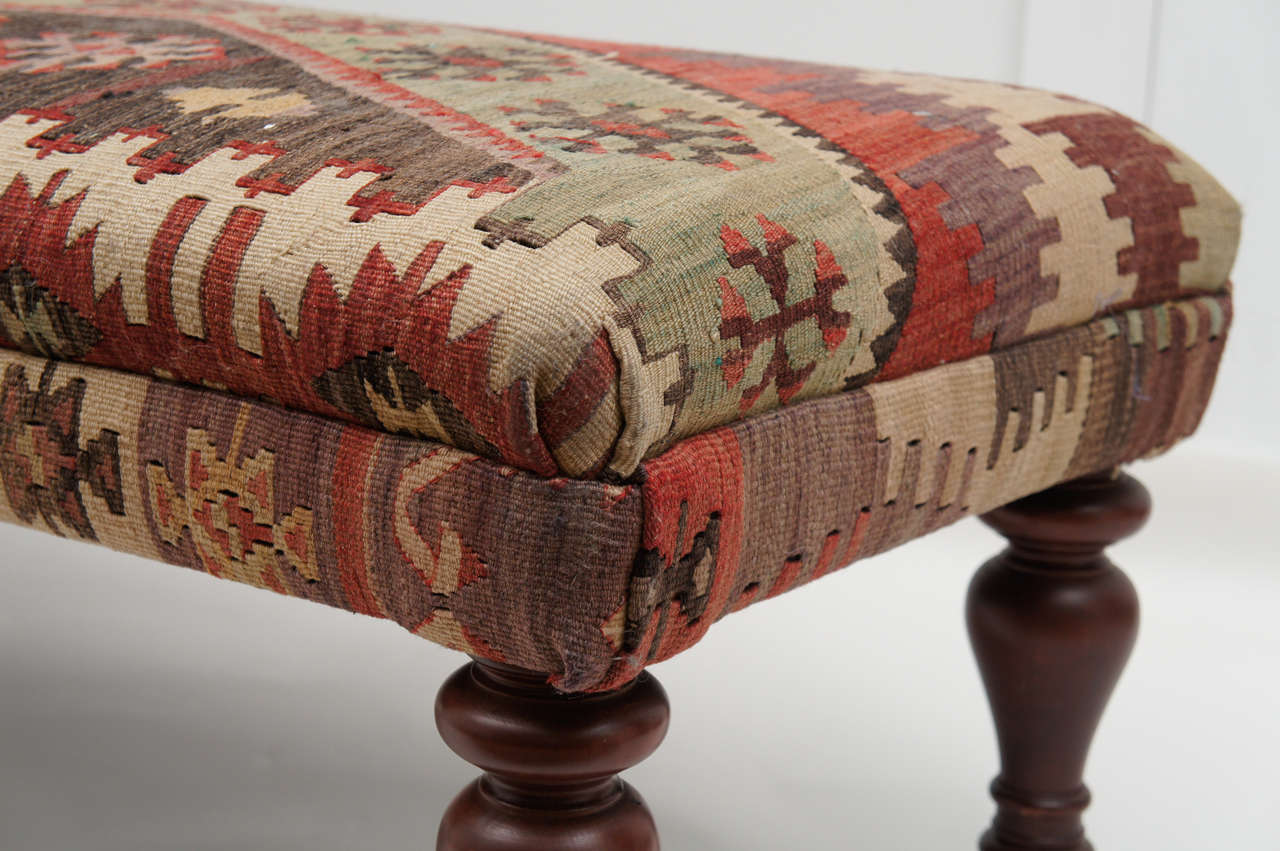 Kilim Ottomans And Benches