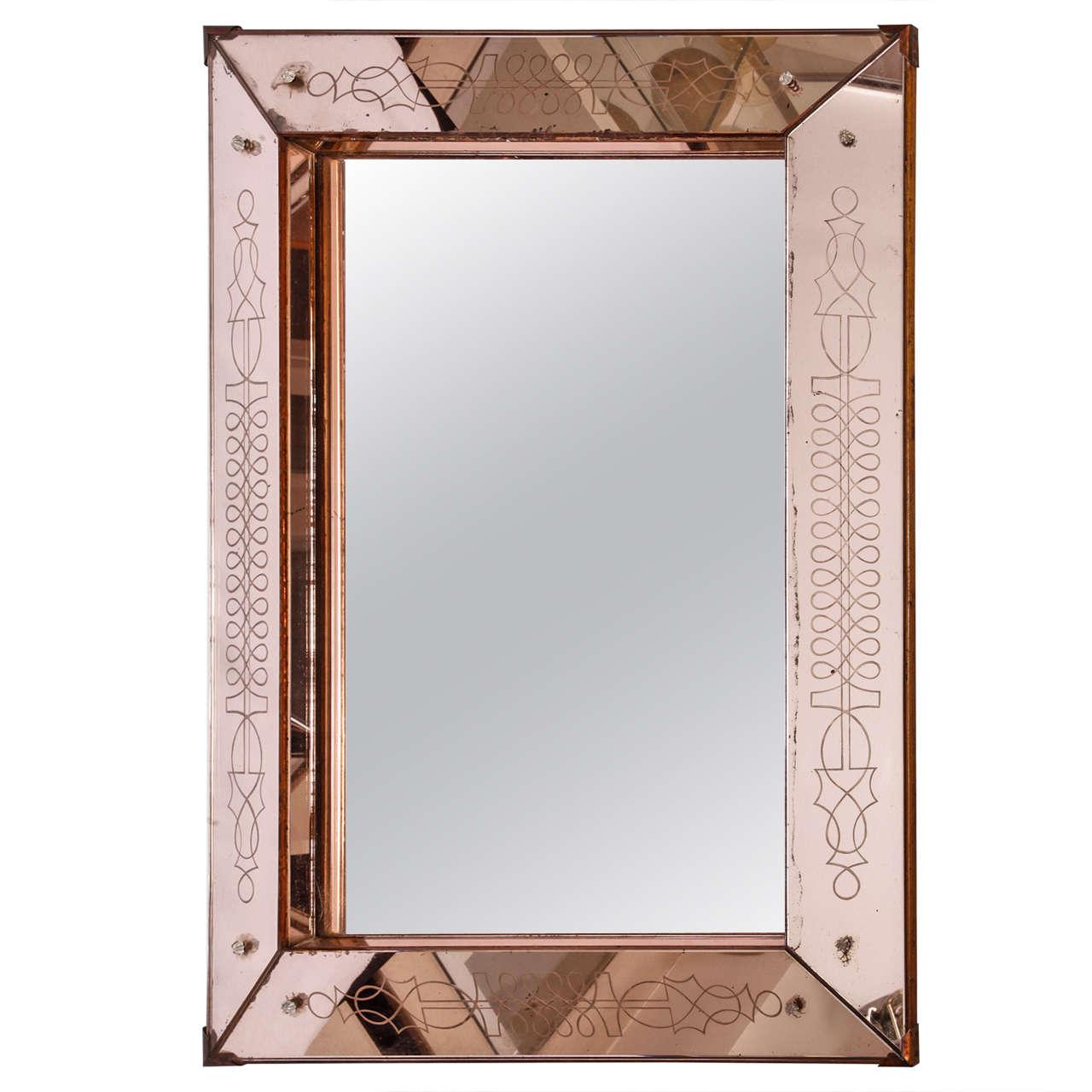 Hammered Metal Mirror Designs
