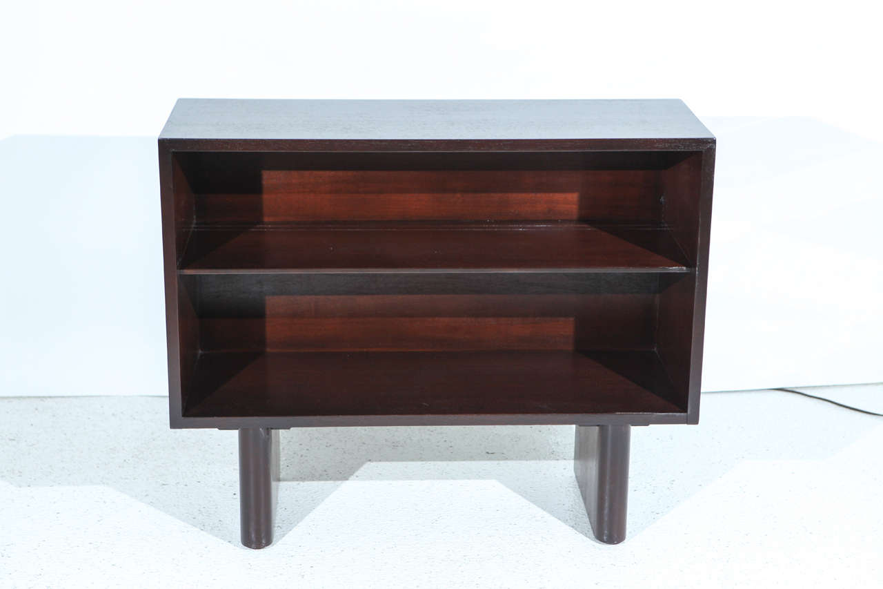 Mahogany Bookcase By Gilbert Rohde For Herman Miller At