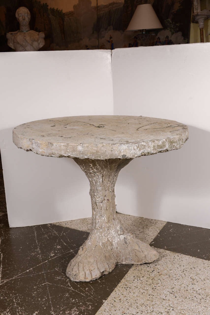 Faux Bois Table from France at 1stdibs