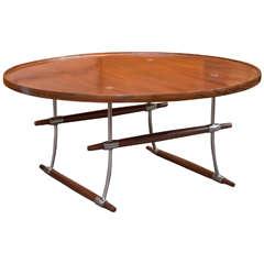 """Jens H. Quistgaard Rosewood """"Stokke"""" Coffee Table"""