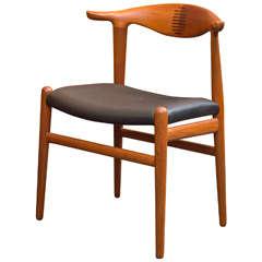 Hans J. Wegner Cowhorn Chair