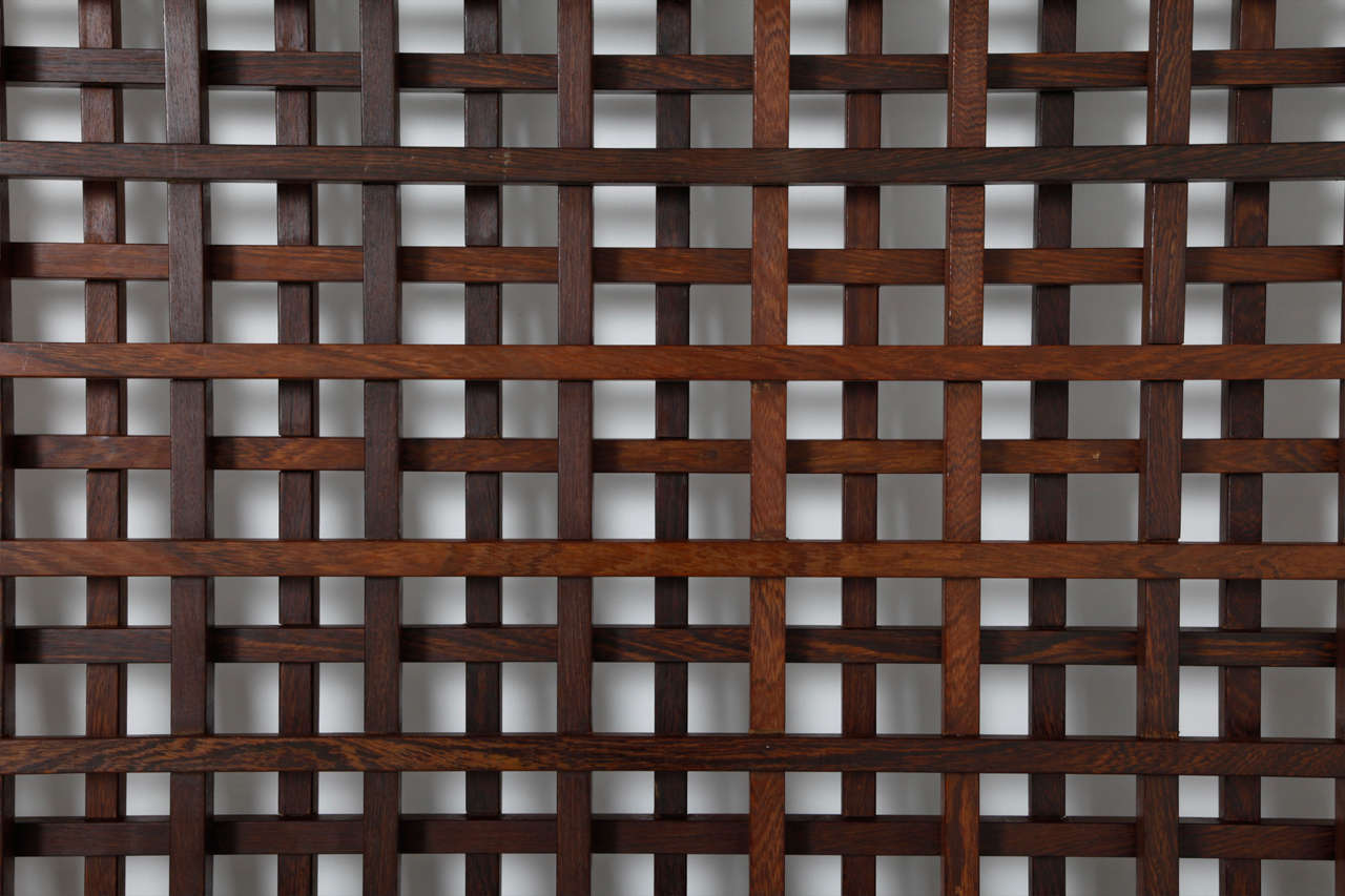 Wenge Danish Room Divider In Excellent Condition For Sale In Antwerp, BE