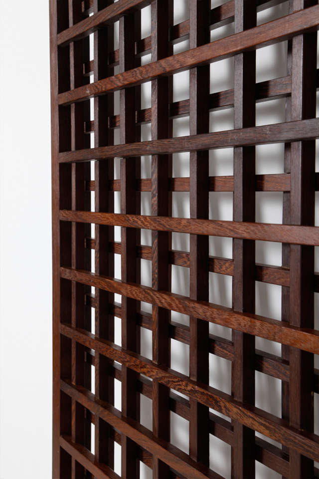 Mid-20th Century Wenge Danish Room Divider For Sale