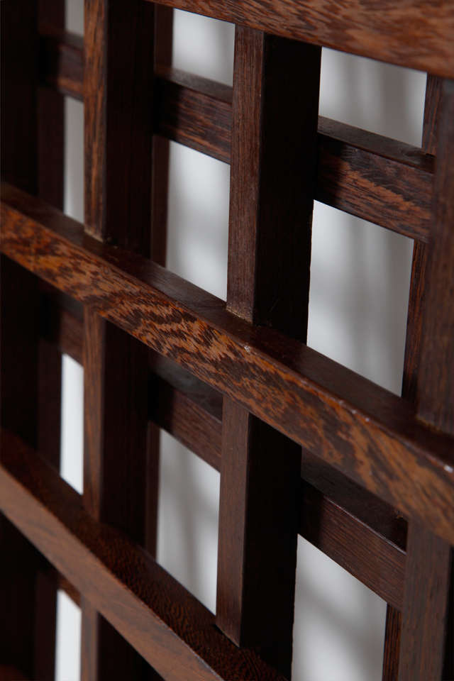Wenge Danish Room Divider For Sale 1