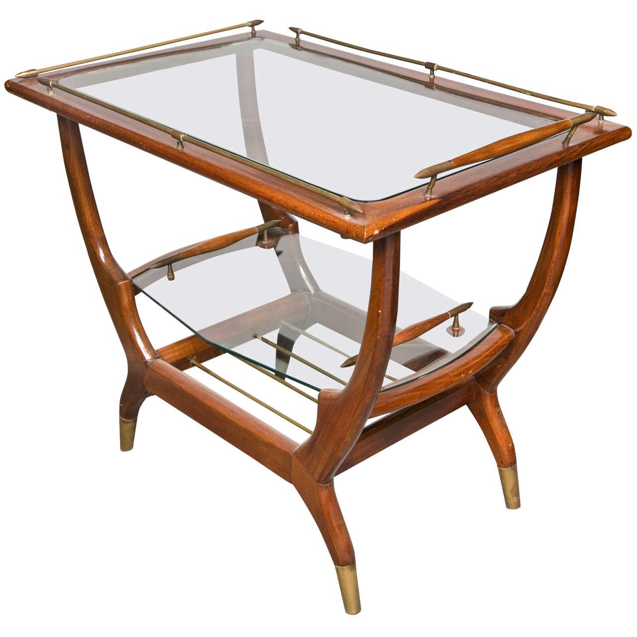 Mid Century Modern Teak Bar Cart At 1stdibs