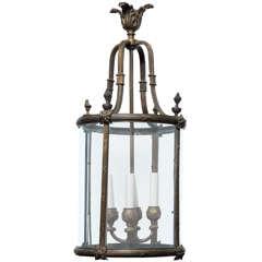 19th Century Bronze Lantern