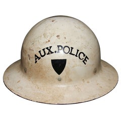 WWII Auxiliary Police Helmet