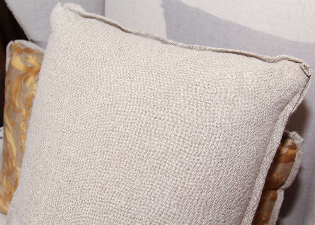 fortuny and linen pillows 9