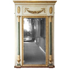 Exceptional, 19th century, large mirror
