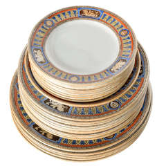 Partial Dinner Service of Mintons Dinnerware, 19th Century