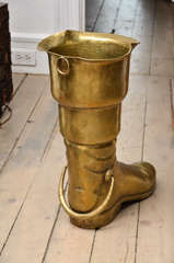 Brass Boot Umbrella Stand image 3