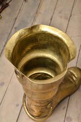 Brass Boot Umbrella Stand image 6