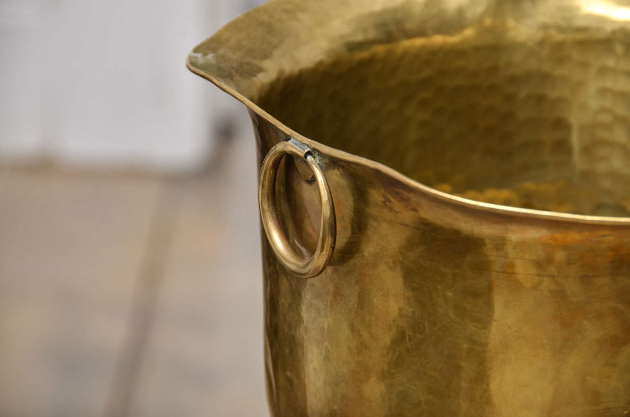 Brass Boot Umbrella Stand 10