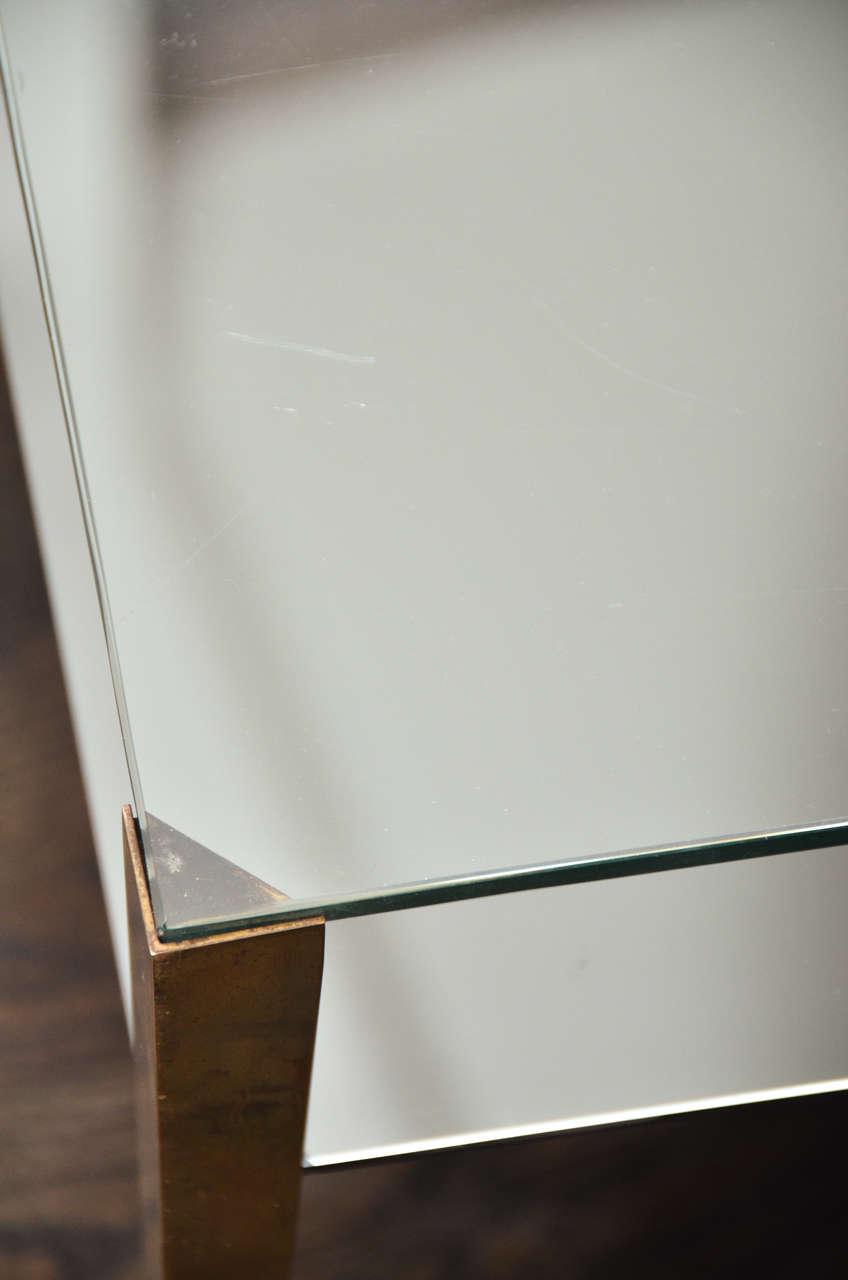 Brass Gio Ponti Coffee Table for Fontana Arte For Sale