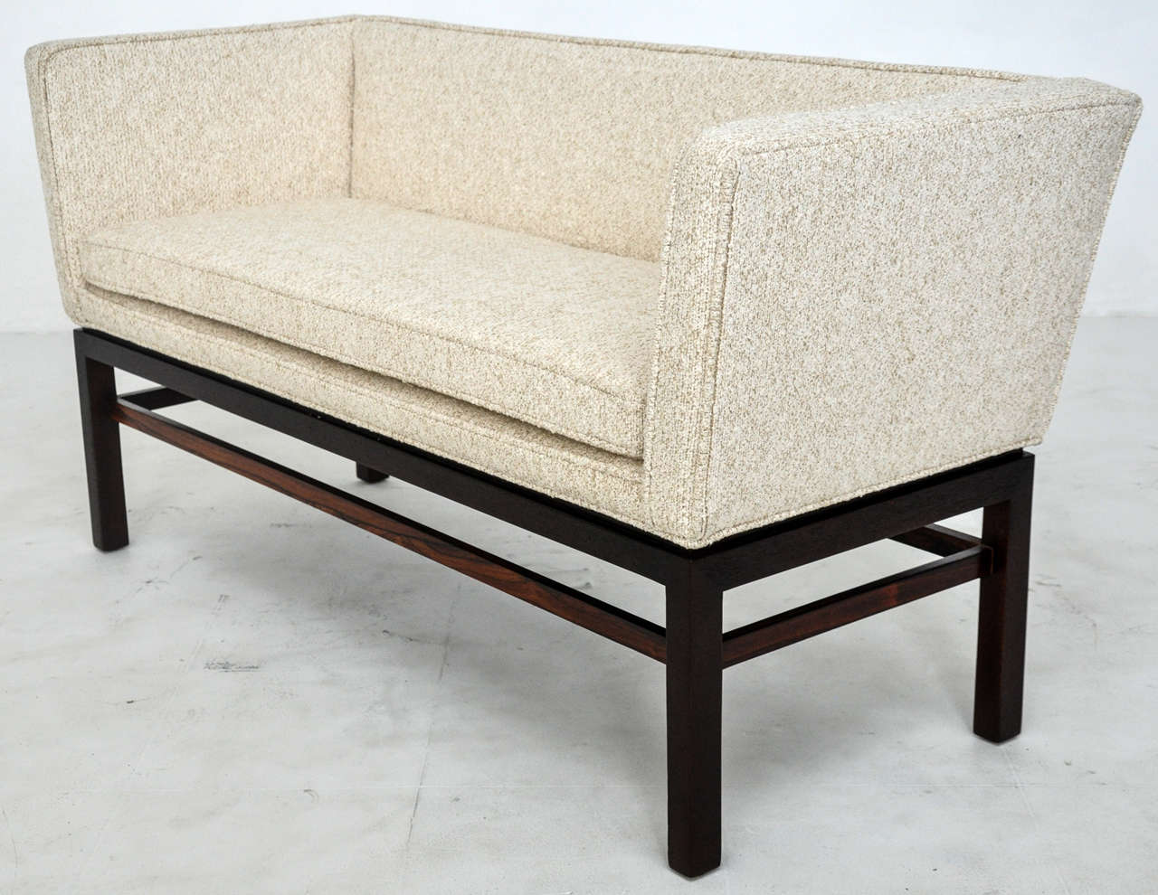 Dunbar Rosewood Settee Bench by Edward Wormley image 6