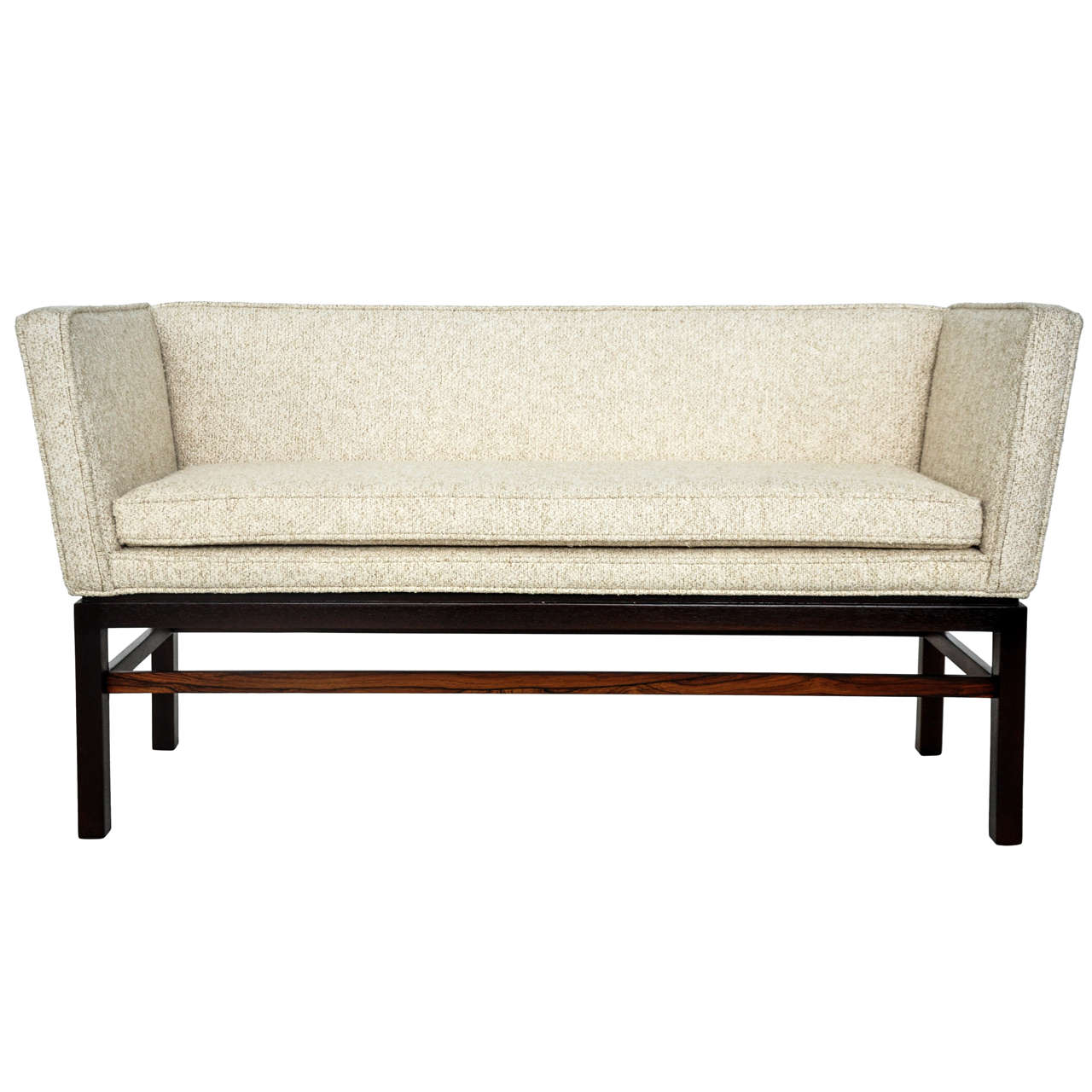 Dunbar Rosewood Settee Bench by Edward Wormley at 1stdibs
