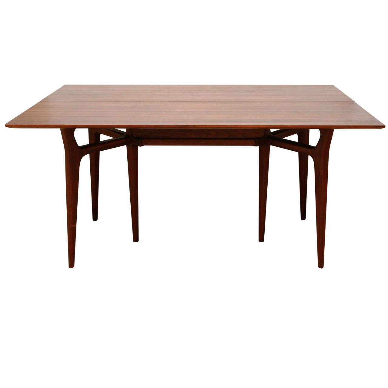 Heritage Flip Top Table At 1stdibs