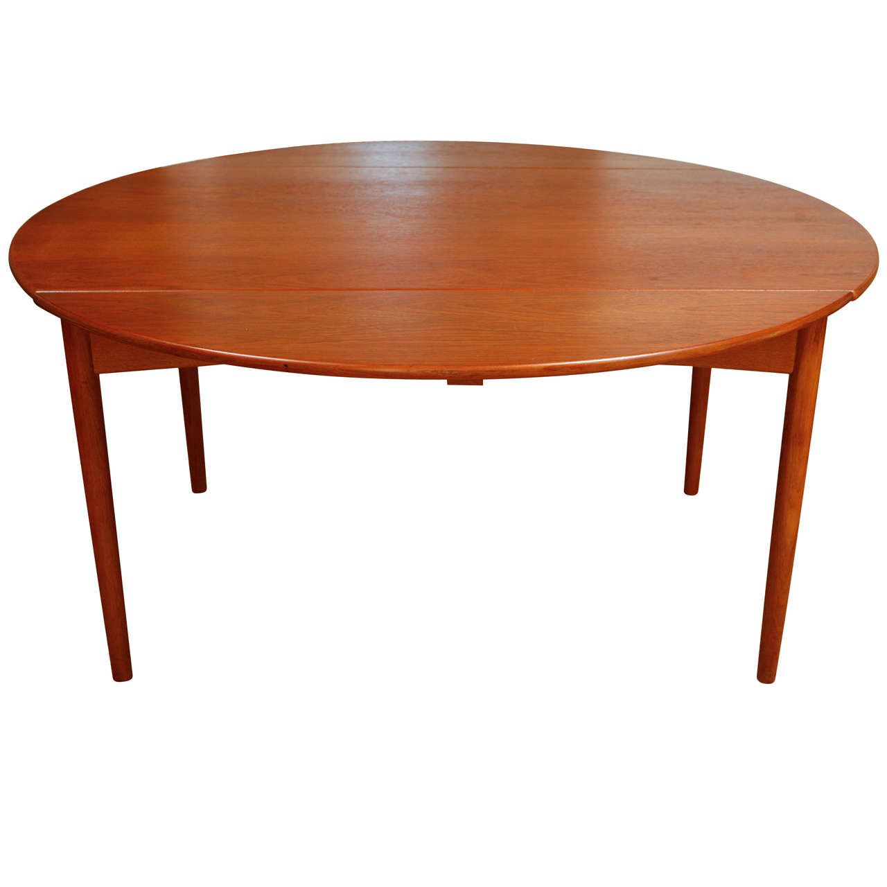 Danish dining table with two leaves at 1stdibs for Table with that left
