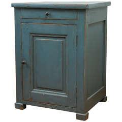One-Door Small Painted Cupboard
