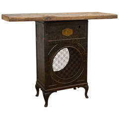 Radio Base Casing Industrial Table