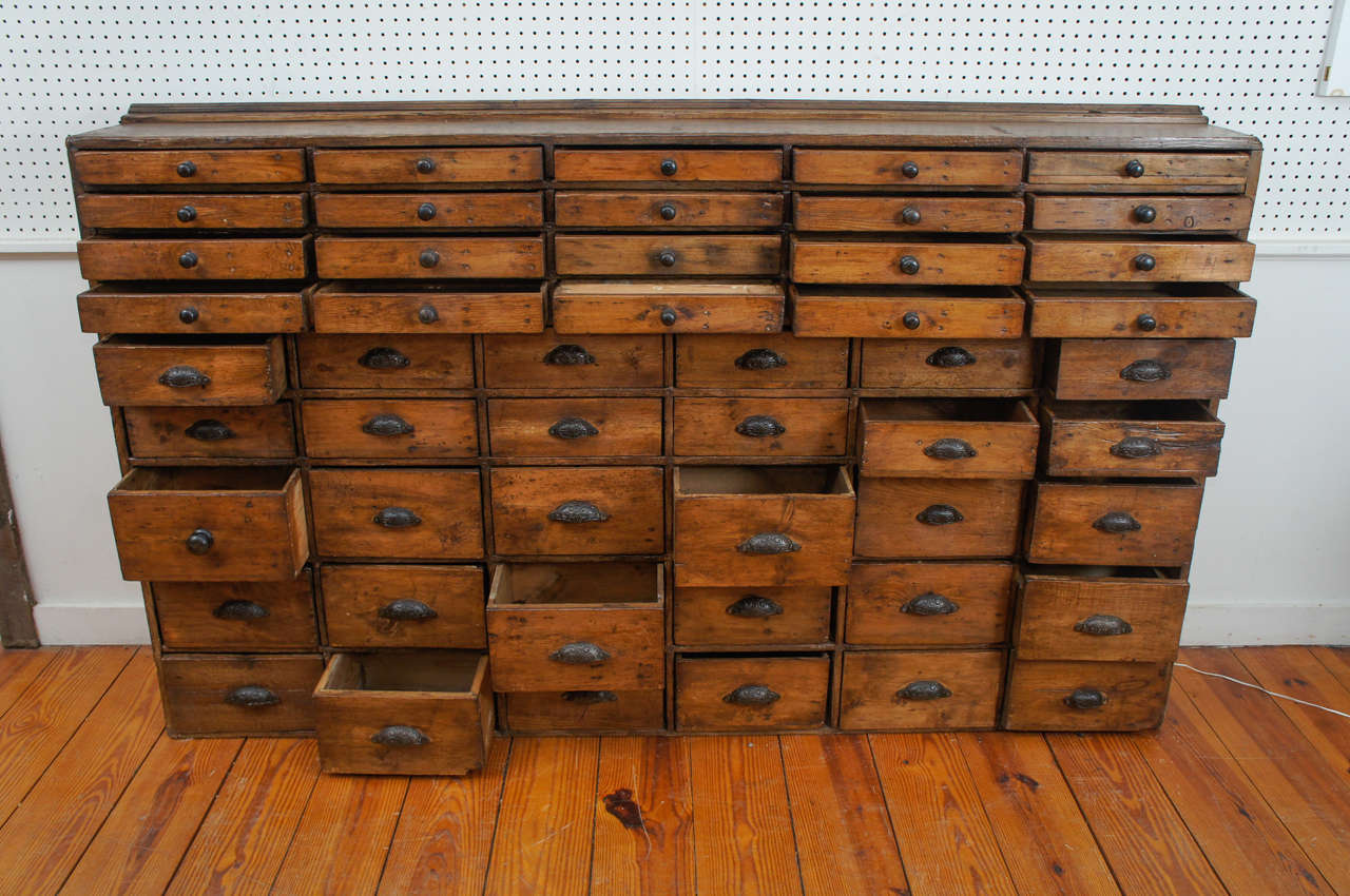 50 Drawer Pharmacy Apothecary At 1stdibs