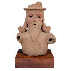 Antique Kofun Period Japanese Haniwa Bust