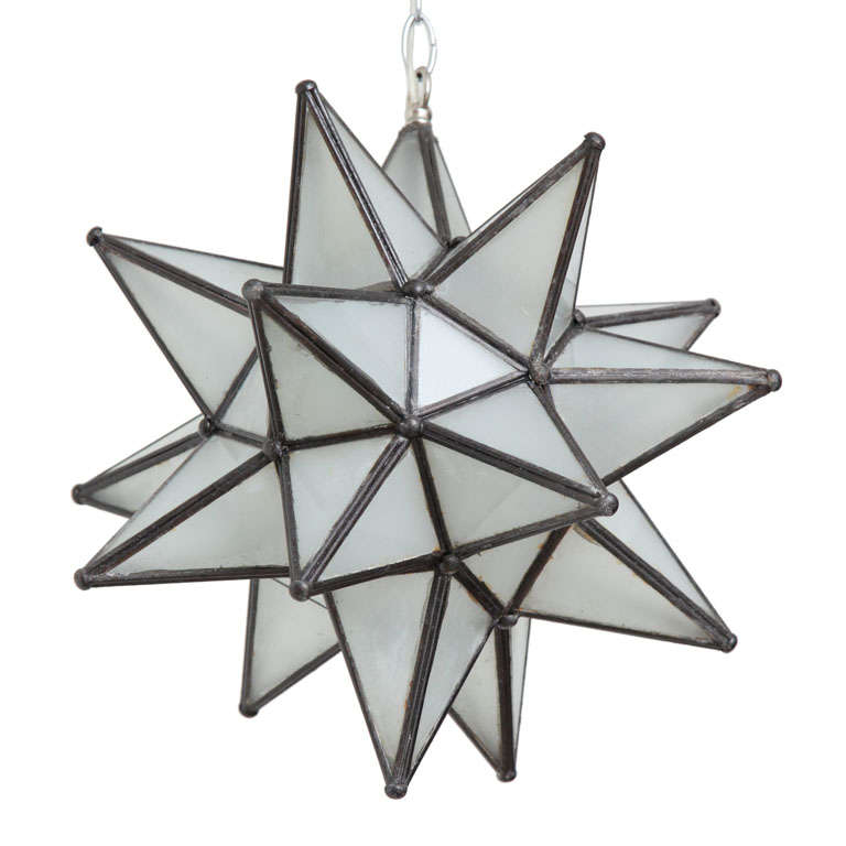 Hanging Star Light Pendant At 1stdibs