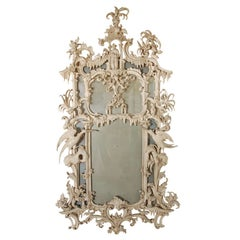 Tonal, Chinese Chippendale-Style Mirror