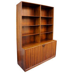 Danish Modern Bookcase by Frode Holm